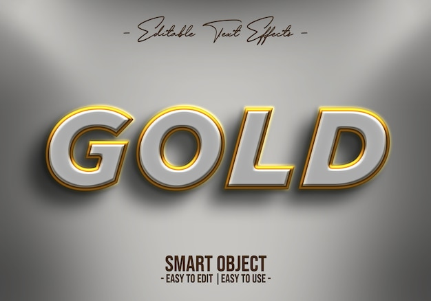Gold-text-style-effect