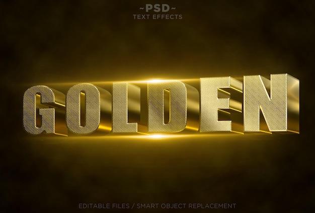 Золотые текстовые эффекты
