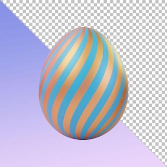 Золотые пасхальные яйца тоска 3d рендеринг