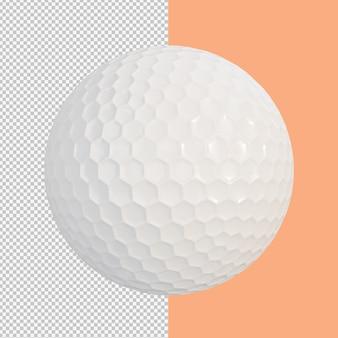 골프 공 고립 된 그림