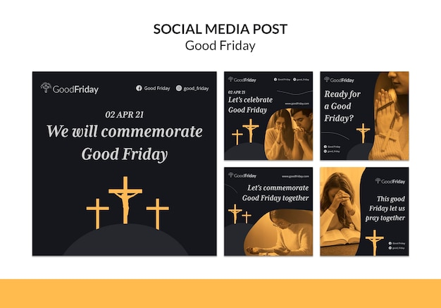 Good friday instagram posts with photo