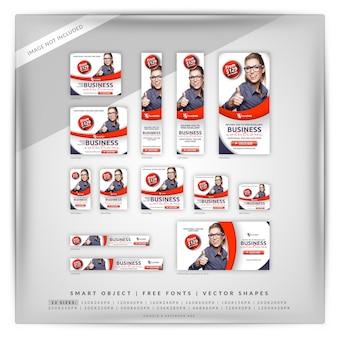 クリーンなビジネスマーケティングgoogleとfacebookの広告