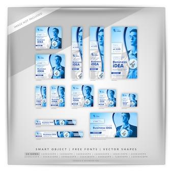 Цифровой маркетинг google баннер set