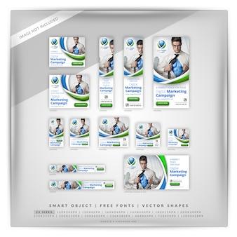 デジタルマーケティングキャンペーンgoogleバナーセット