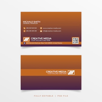 Gradiant business card