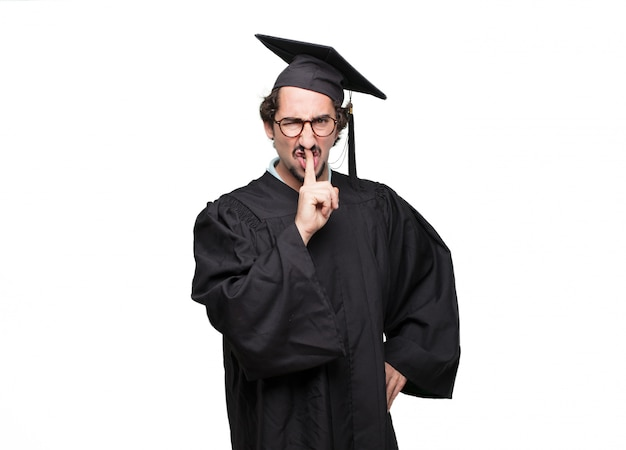 大学院生の身元を確認する