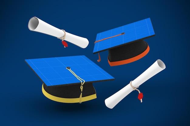 졸업 모자
