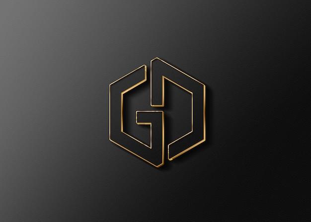 Graphic design software logo mockup