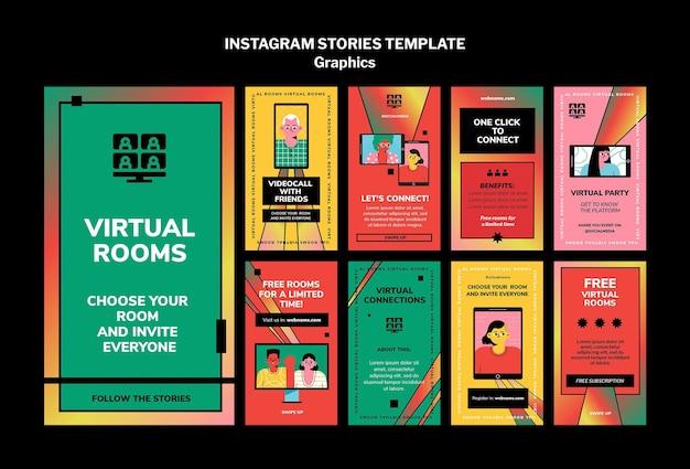Graphics instagram stories