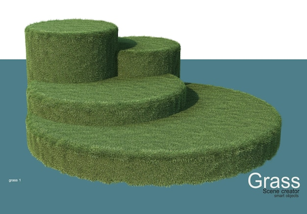 Grass display stand