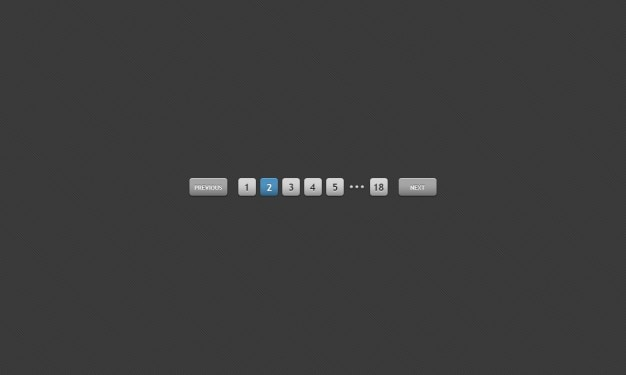 Gray paging interface psd