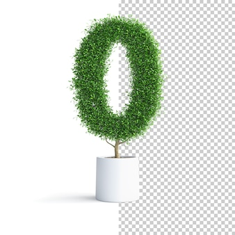 Green tree number 0