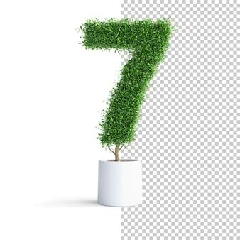 Зеленое дерево номер 7