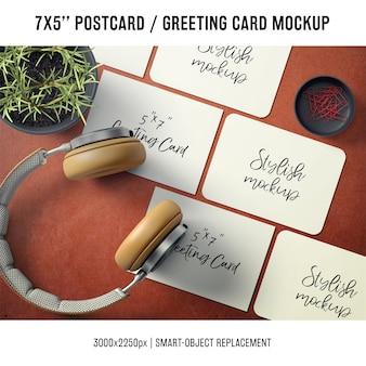 Greeting card mock up