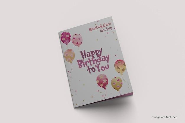 Дизайн макета поздравительной открытки