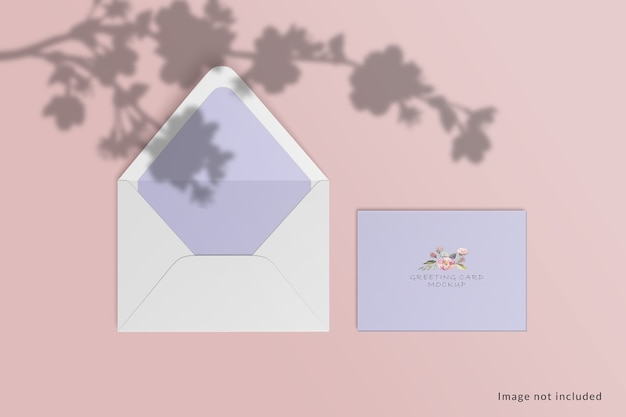 인사말 카드 모형