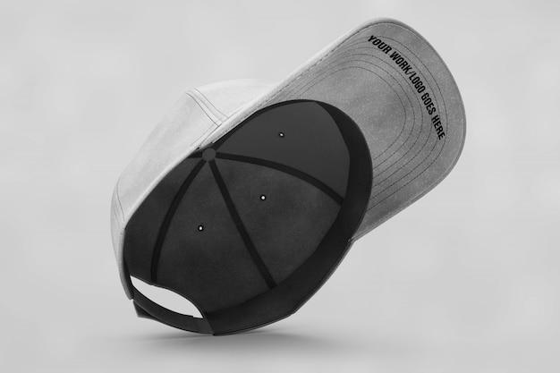 Grey cap mock up