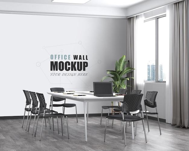 그룹 작업 및 교환실 벽 모형
