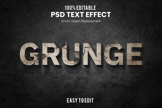 Эффект grungetext