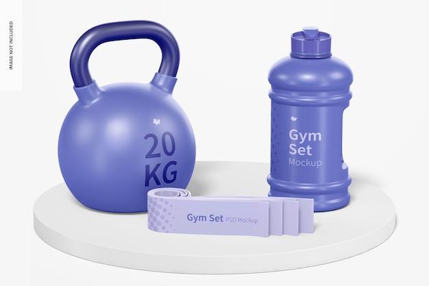Gym set mockup
