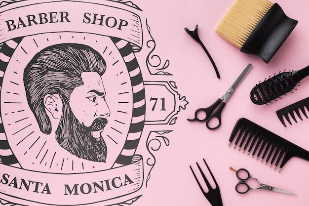 美容師コンセプトモックアップ