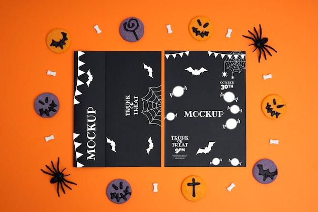 モックアップカードでハロウィンアレンジ
