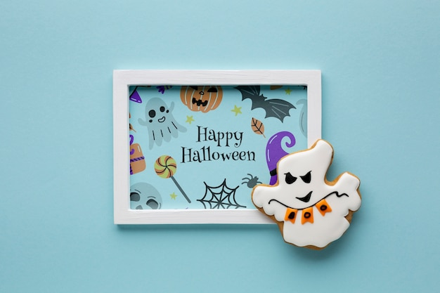 Halloween draw frame and sweet treat