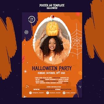 Modello di stampa per la festa di halloween