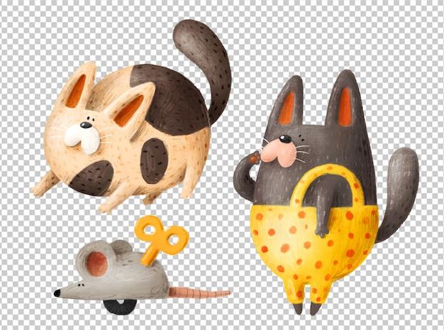 Рисованной кошки