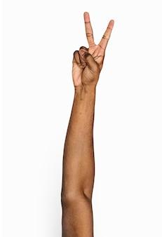 Ручной жест изолирован