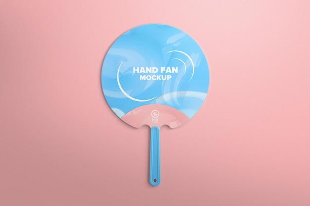 브랜딩 모형을위한 휴대용 플라스틱 팬