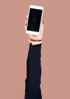 Ручной смартфон