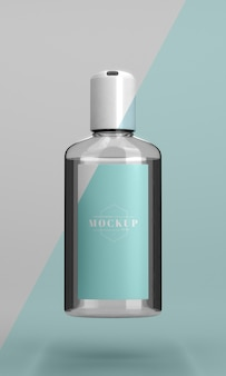 Hand sanitizer mock-up bottle