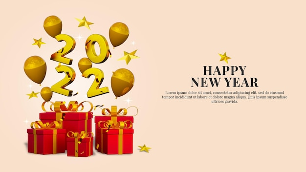 Шаблон сообщения в социальных сетях с новым годом и рождеством