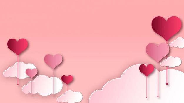 幸せなバレンタインデーフレーム