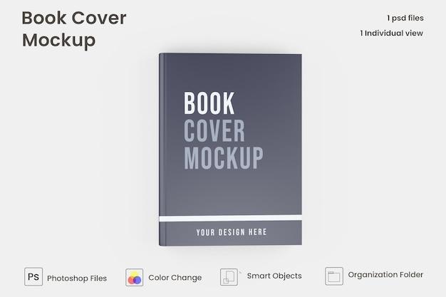 ハードカバーの本のモックアップ Premium Psd