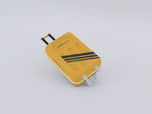Bagaglio rigido, mockup di valigia