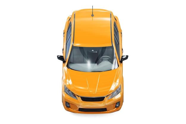 Макет автомобиля хэтчбек 2011 года