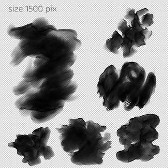Hd water color brushes sets