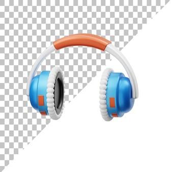 Наушники 3d иллюстрация