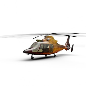 Helicopter mock up design