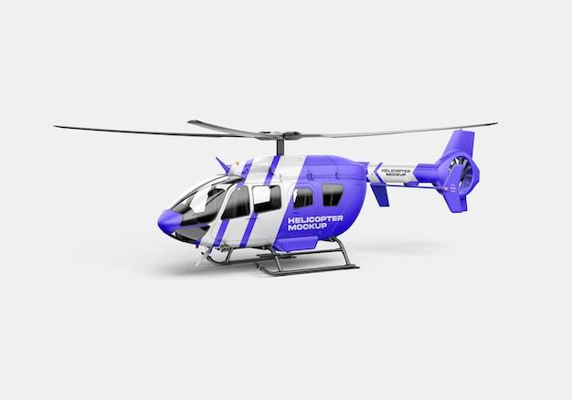 Мокап вертолета