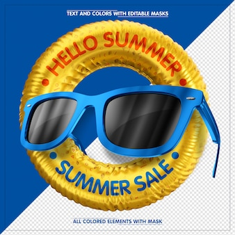 Hello summer - summer sale