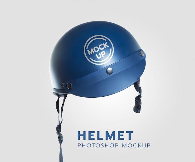 現実的なヘルメットのモックアップ