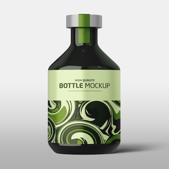High quality bottle mockup
