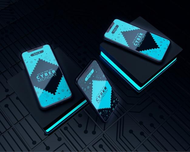 High tech phones cyber monday sale