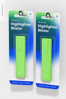 Highlithers 물집 모형, 교수형