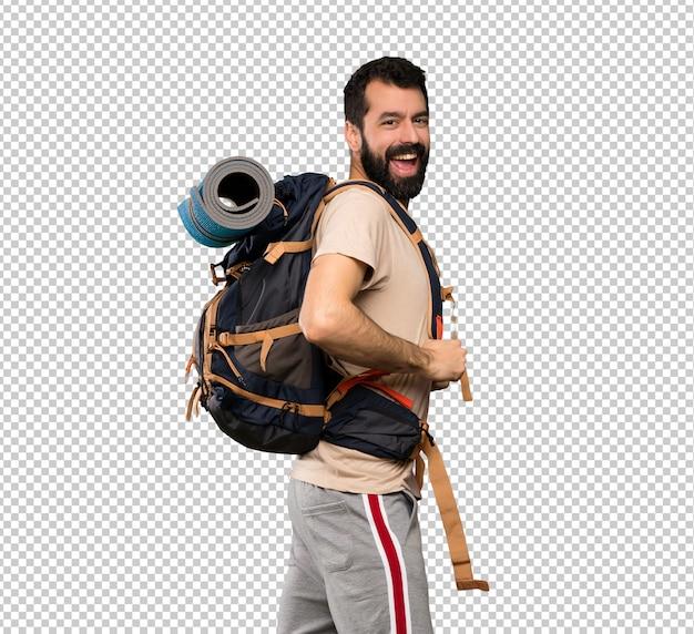 Счастливый человек hiker