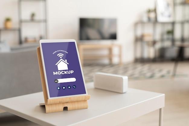 Home automation mockup design