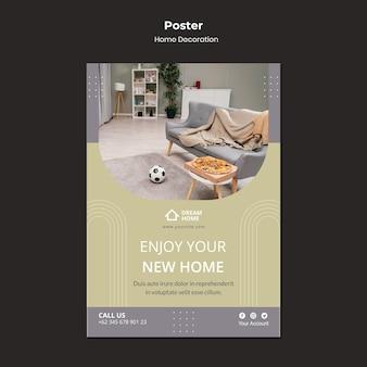 Modello di stampa per la decorazione della casa